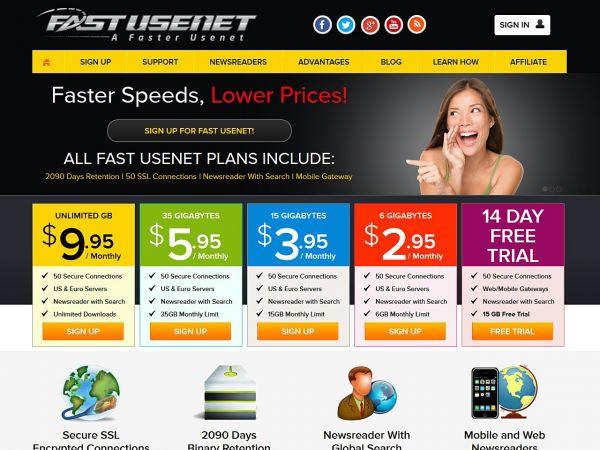 fastusenet.org Screenshot